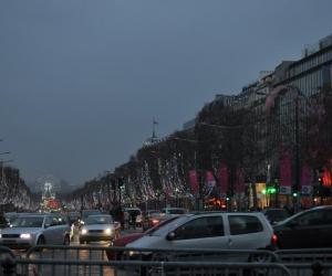 Bulevardul Champs Elysees, Paris